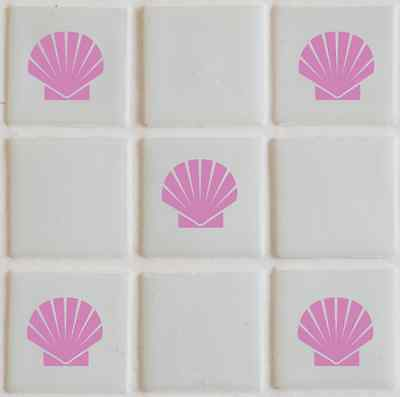28 x Shells Tile transfers stickers,graphics,decals, bathroom TI3