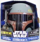 Starwars Boba Fett Electronic Helmet Star Wars Esb Sound Fx 2010