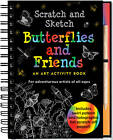 Scratch & Sketch Butterflies & Friends by Martha Day Zschock (Spiral bound, 2009)