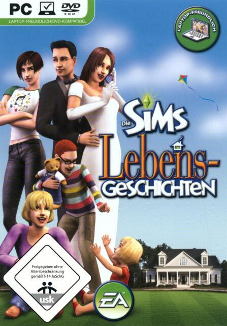 Die Sims: Lebensgeschichten (PC, 2009, DVD-Box)