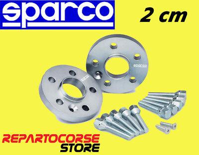 DISTANZIALI SPARCO 20mm FIAT PUNTO III 3 (199) - DAL 2012 - ANCHE ABARTH