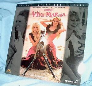 LD-laserdisc-Louis-Malle-VIVA-MARIA-Brigitte-Bardot-Jeanne-Moreau