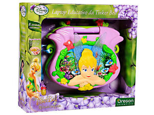 New-Scientific-Tinkerbell-Little-Learning-Kids-Laptop-Childrens-Girl-Gift-4