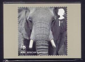 GB 2011 WWF PHQ STAMP CARDS MINT