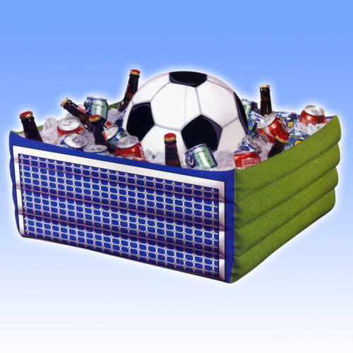 Inflatable FOOTBALL Soccer Sports Birthday Party Drinks Cooler PS