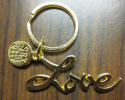 TV Show Sex And The City Gold Love Keychain Key Chain Ring Gift Charm Replica