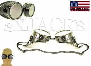 REAL-WELDER-039-S-WELDING-GOGGLES-GLASSES-LENS-STEAMPUNK-NEW-C-INDUSTRIAL-OSHA-ANSI