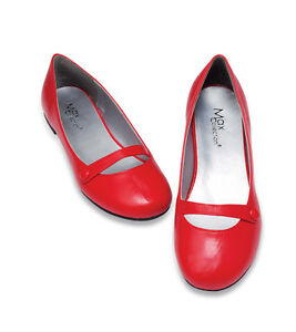 Women-MARY-Janes-Ballet-Flat-Style-Shoes-Size