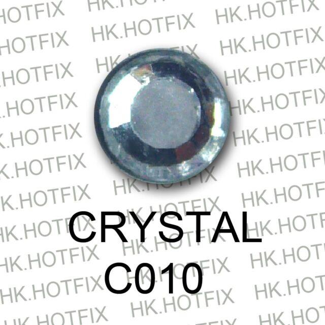 High Quality crystal 2mm 3mm 4mm you choose Iron on Flatback Hot fix Rhinestones