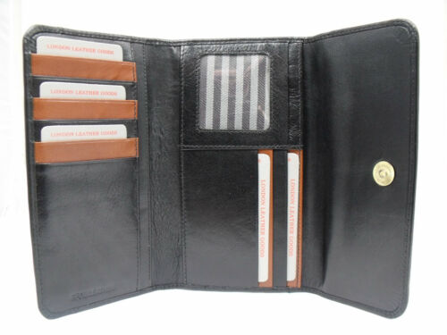 LADIES SUPER SOFT REAL LEATHER PURSE COIN POUCH CREDIT CARD HOLDER BOXED