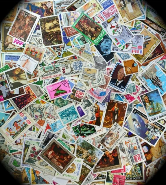 Collect these Wonderful World Wide stamps in lots of 100 from our Gigantic Stock