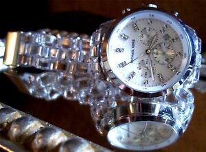 MICHAEL-KORS-Clear-Womens-Watch-CHRONOGRAPH-Watch-Crystal-MOTHER-PEARL-MK5235