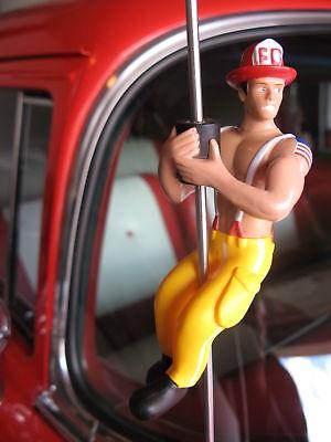 Car / Truck Antenna Topper  Sexy FIREMAN Pole Dancer Stripper Doll  Muscle Man