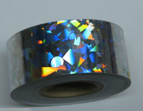 Crystal Glass Confetti Holographic HoloCrystal Tape pick your color and size