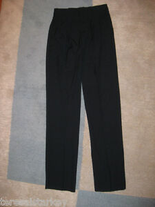 Mens-Black-Dress-Pants-pant-Cintas-38-x-32-34-Angelica-Cintas-NEW