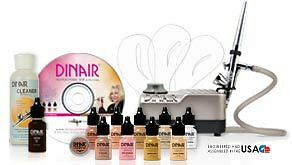 Dinair-Airbrush-Makeup-PERSONAL-PRO-EDITION-KIT-8-colors-WHITE-PEARL