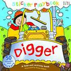 Digger Sticker Playbook by Miles Kelly Publishing Ltd (Spiral bound, 2013)