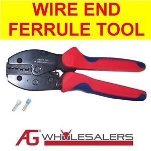 WIRE-END-FERRULE-TERMINAL-CRIMP-CRIMPER-TOOL-ELECTRICAL