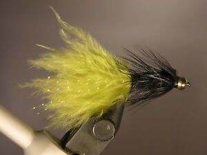 6-BH-Black-w-Olive-Tail-Woolly-Buggers-Size-8