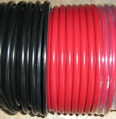 MARINE 16 metre  TYCAB BATTERY CABLE  3B&S  25mm2 (8m BLACK & 8m  RED) TINNED