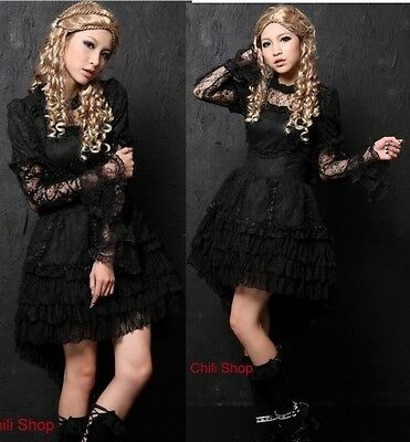 Kera Dolly Gothic Punk Lolita Lace Party Dress 61218B M