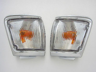 1997 Toyota Hilux LN104 5th gen pair clear chrome corner light NEW