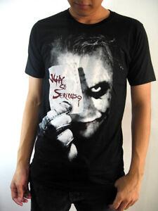 New-Men-JOKER-Black-Top-Tee-T-shirt-cotton-movie-comics-ROCK-size-S-M-L-XL-2XL