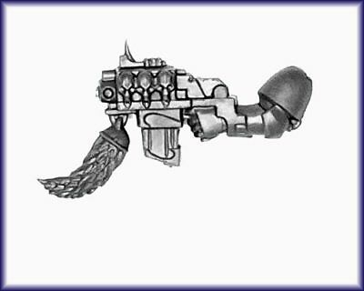 Space Wolves Wolf Pack STORM BOLTER Arm