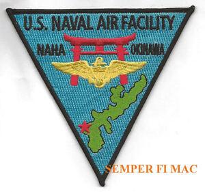 NAF-NAHA-OKINAWA-PATCH-NAS-NAVAL-AIR-FACITITY-US-NAVY-MARINES-PILOT-WING-CAG-WOW