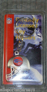 NIB-NFL-FOOTBALL-HELMET-KEY-CHAIN-BUFFALO-BILLS