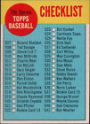 1963 Topps Checklist 7 #509 Baseball Card