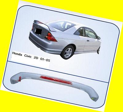 Spoiler Wing OE Style W/ LED Honda Civic 2001-2005