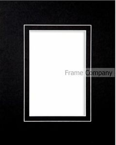 Packs-of-10-Black-White-or-Ivory-Picture-Photo-V-Groove-Mounts