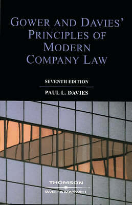 L.C.B. Gower, Gower and Davies: The Principles of Modern Company Law, Very Good