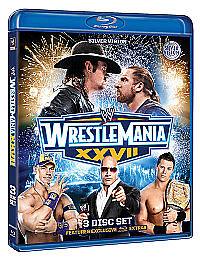 WWE - Wrestlemania 27 (Blu-ray, 2011, 3-Disc Set) Used Once