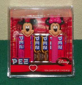 Disney Mickey & Minnie Valentine's Day PEZ Set (2009)