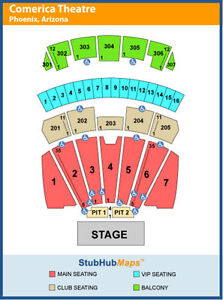 Jonas Brothers Tickets MAIN FLOOR 7 - 8