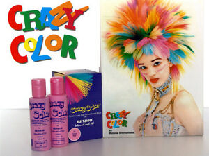 image is loading twin pack crazy color semi permanent hair dye - Poudre Colorante Cheveux