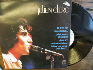 Julien Clerc Ce N'Est Rien Si On Sang Album 2 Discs LP Vinyl 33 RPM