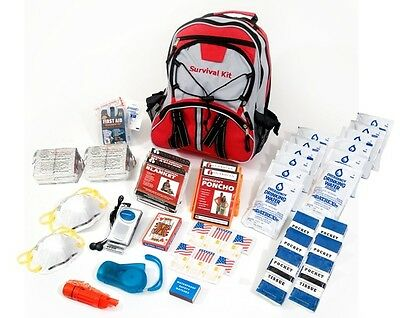 72 Hour 2 Person Guardian Essentials Survival Kit Bug Out Bag Emergency Supplies