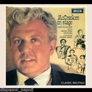 James Mccracken: Mccracken On Stage / Bernet - CD