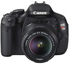 Canon EOS Rebel T3i / EOS 600D 18.0 MP Digital SLR Camera - Black (Kit w/ EF-S IS II 18-55mm Lens)