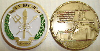 USS L.Y. Spear AS 36 Submarine Tender Coin Navy USN