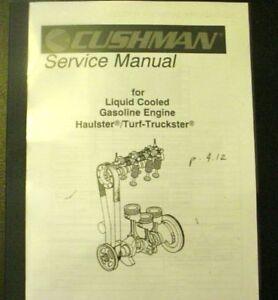 cushman 836278 service manual 327 daihatsu models ebay rh ebay com