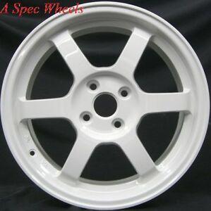 rota wheels 4x100. image is loading 16x7-rota-grid-wheels-4x100-white-rims-40mm- rota wheels 4x100 m