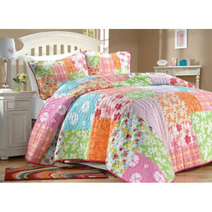 NEW-BEACH-BUNKS-GUESTS-TROPICAL-REG-QUILT-SET-TWIN