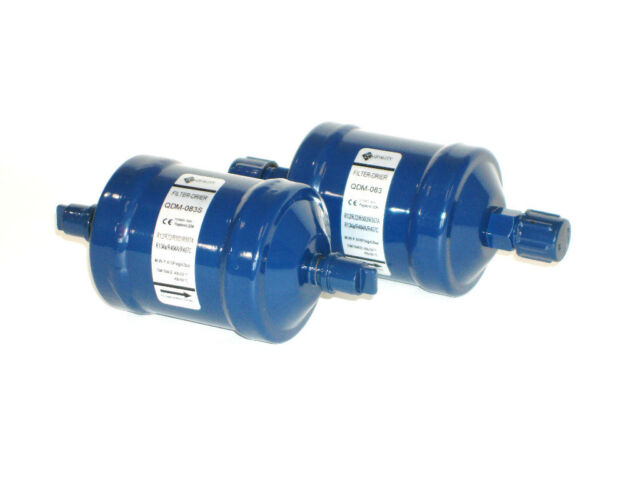 "Q.E. 3/8"" ODF Sweat Solder Liquid Line Filter Drier 163S (NEW)"