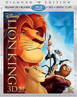 The Lion King (Blu-ray/DVD, 2011, 4-Disc Set, Diamond Edition Includes Digital Copy 3D/2D)