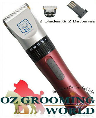 Aeolus Pro Clipper Kit Ceramic Blade Dog Grooming Bonus