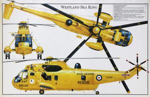 Westland-Sea-King-British-RAF-SAR-helicopter-poster